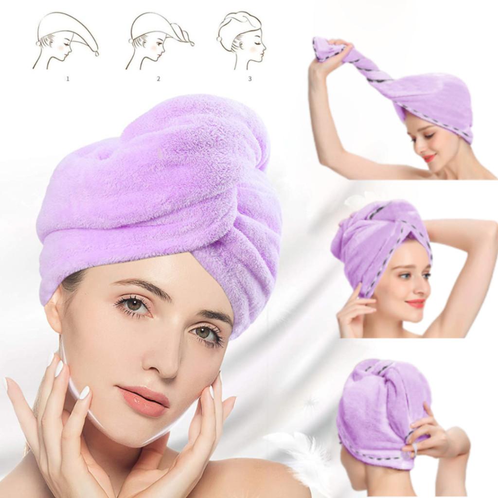 HAIRGLOW® Asciugamano Per Capelli A Rapida Asciugatura