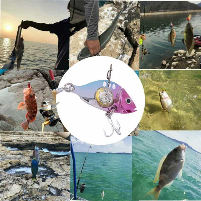 Esca da pesca a led