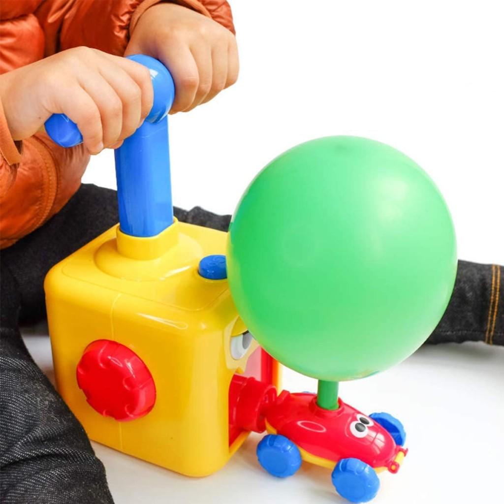 Giocattolo lancia auto a mongolfiera