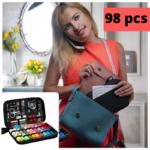 SEWINGO® ESCLUSIVO: borsa da cucito con 98 accessori